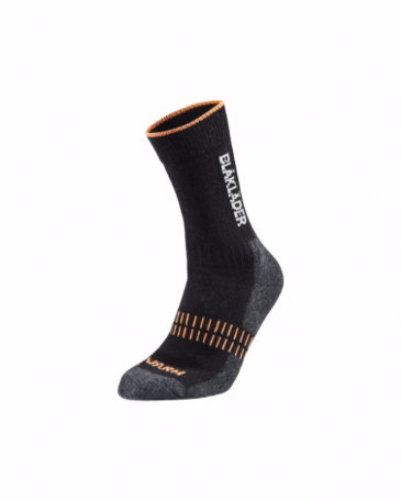 Blaklader 2192 Warm Sock (Black/Neon Orange)